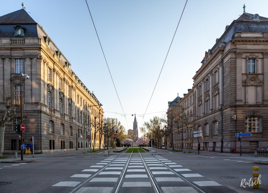 Avenue de la Paix, Strasbourg