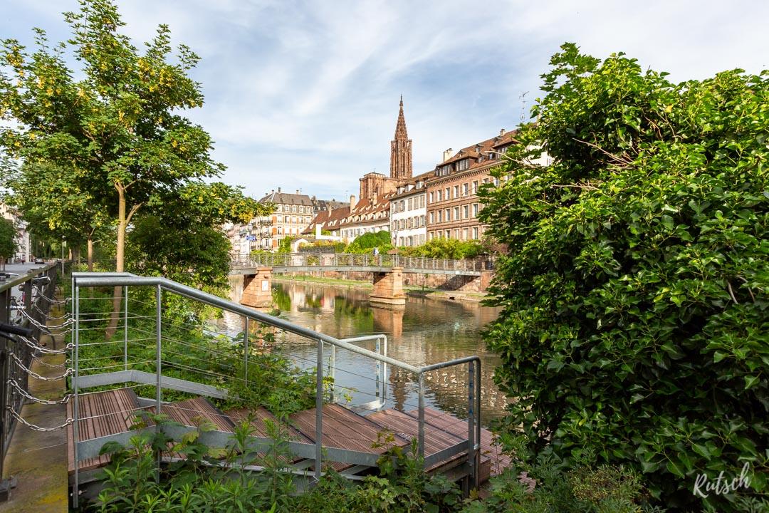 Notre-Dame de Strasbourg depuis les Quais