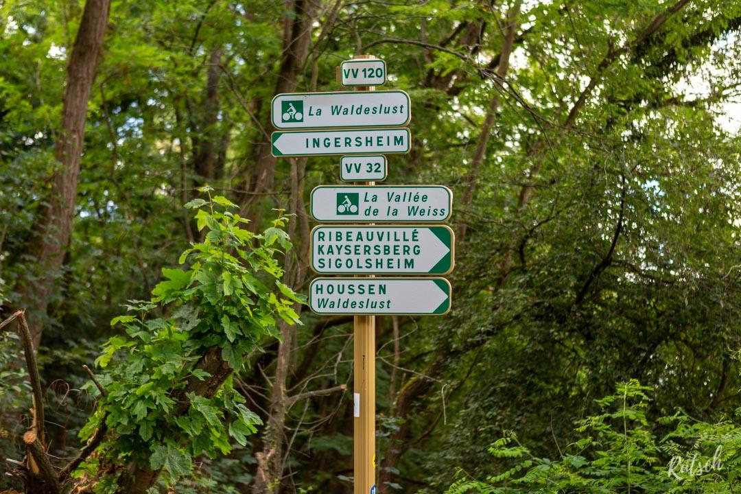 Route des Vins d'Alsace velo - VV32