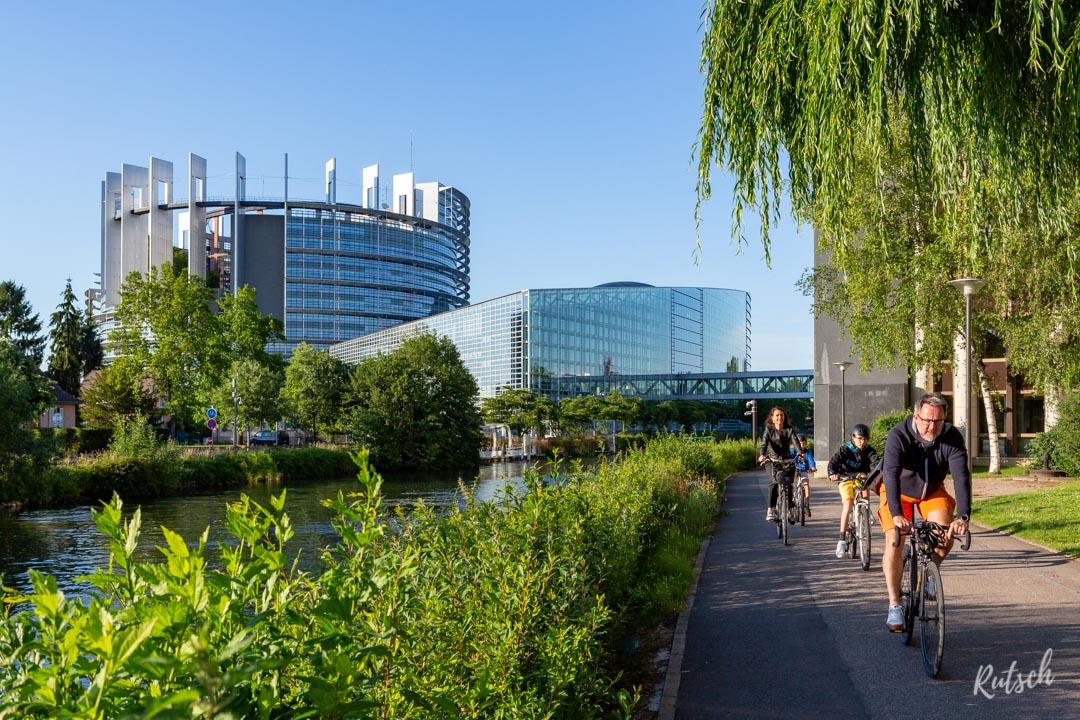 Vélo Parlement Européen Strasbourg