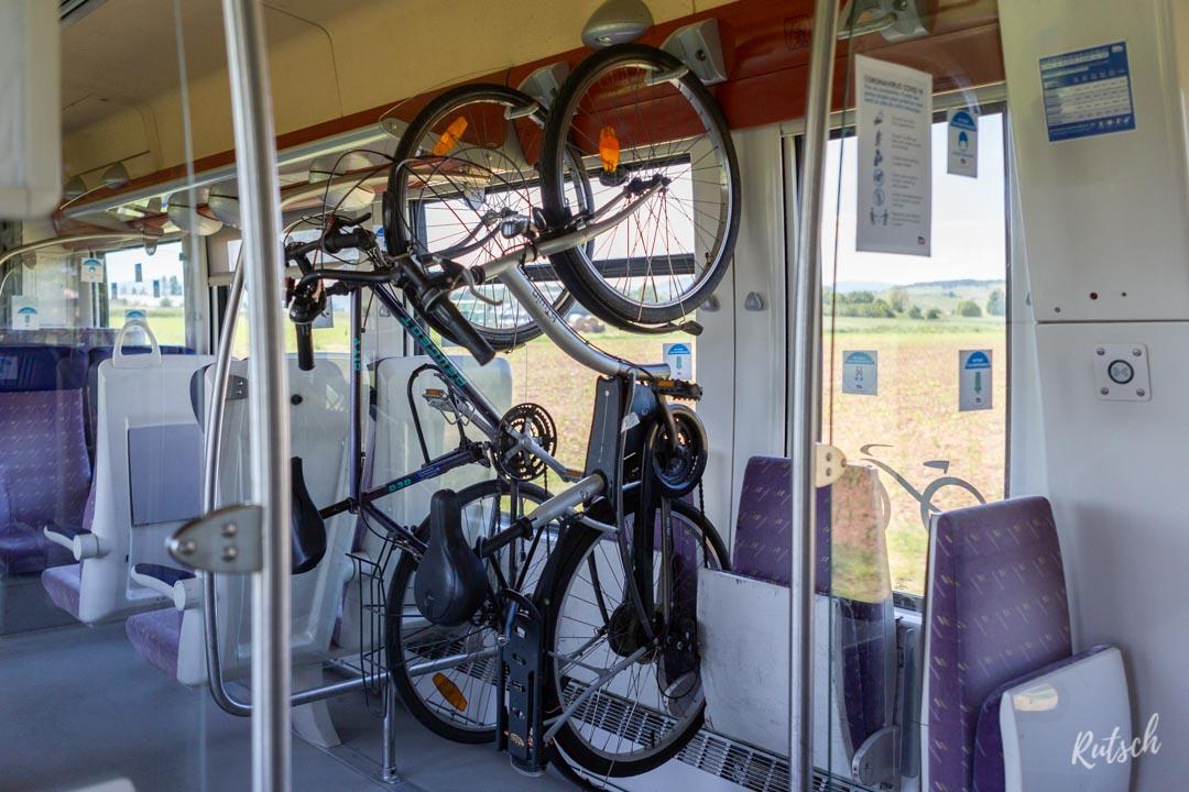Vélo dans train TER Alsace