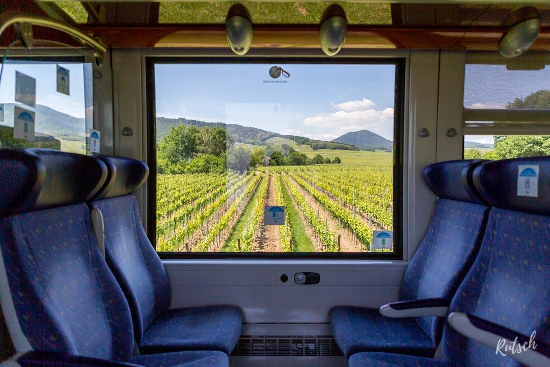Route des Vins d'Alsace train