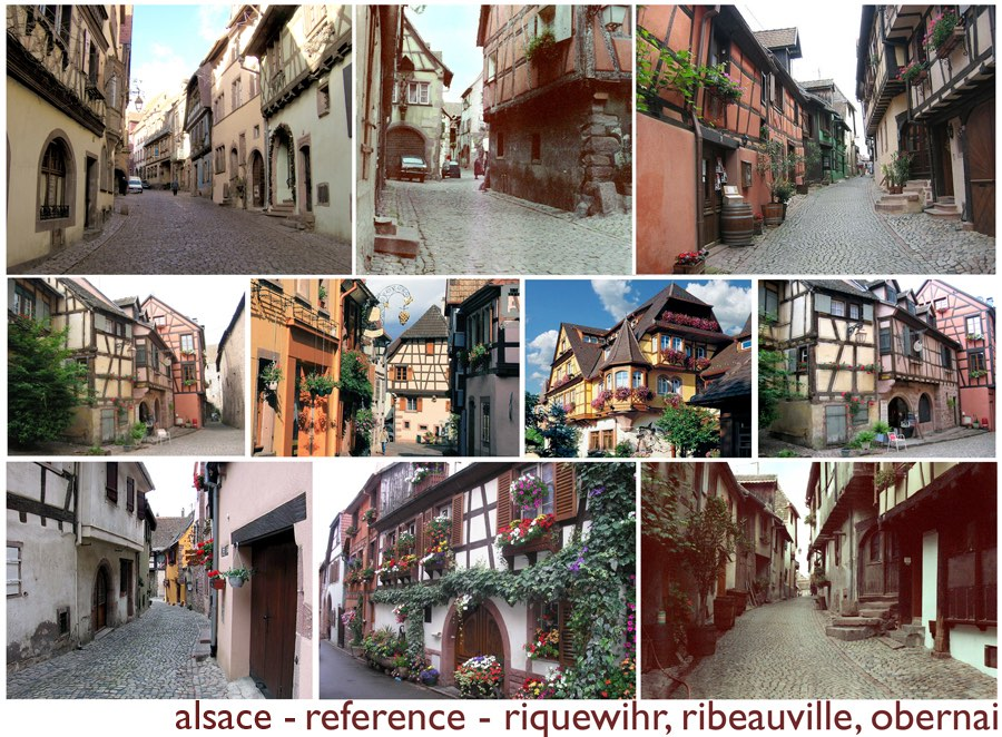 Planche inspiration Alsace, par Hans Bacher