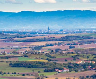 Strasbourg depuis Saverne