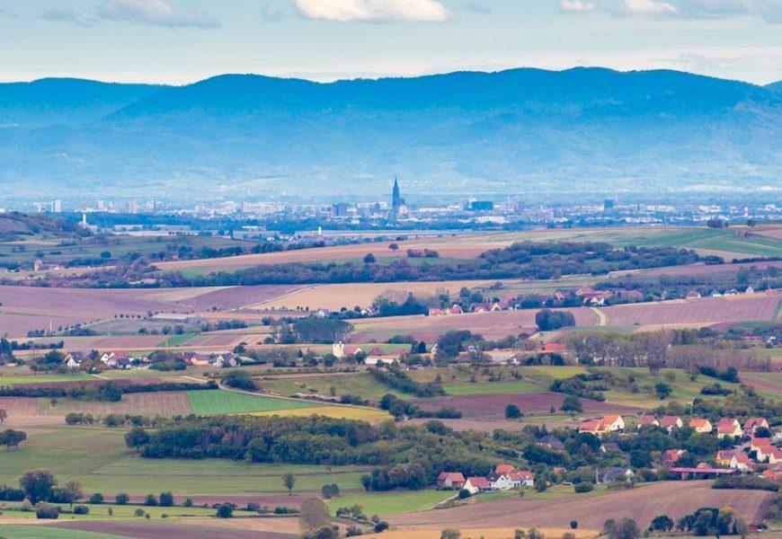 Y'a quoi, à maximum 20km autour de Strasbourg ?