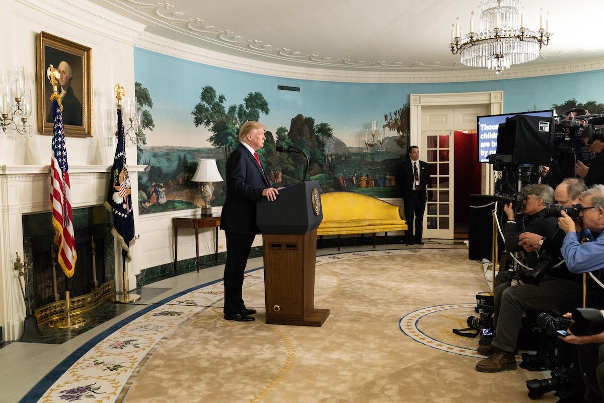 Président Trump, Maison Blanche