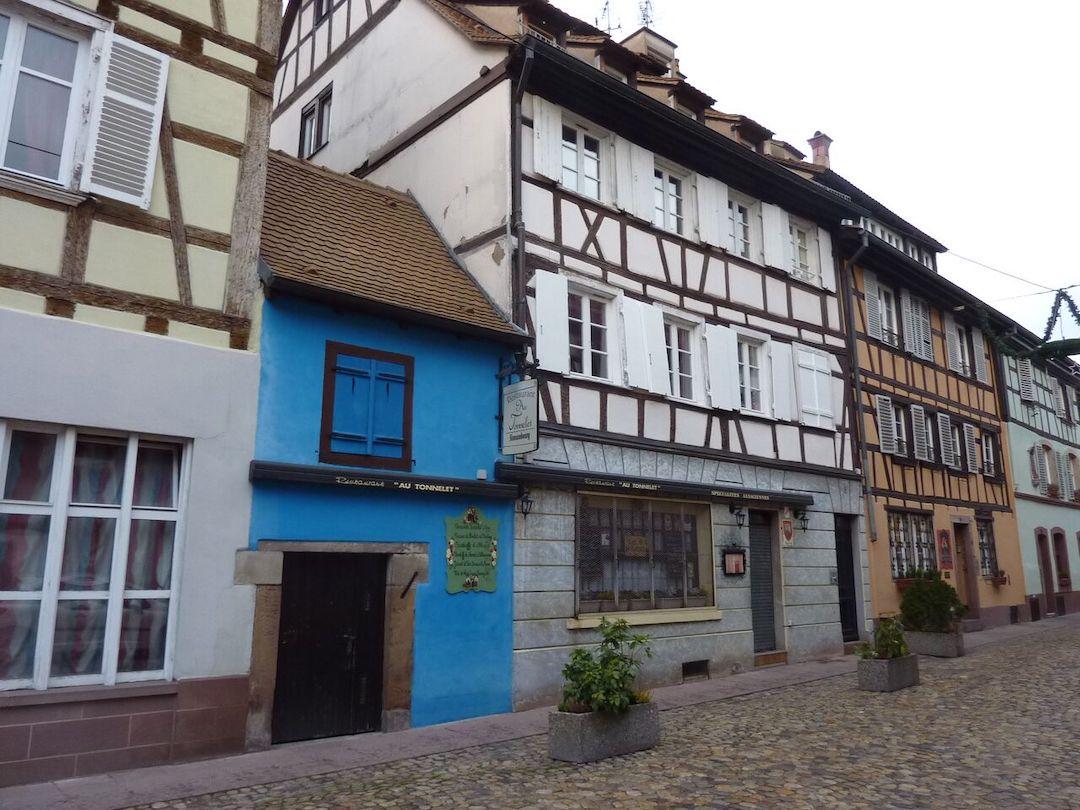 9 rue des Moulins à Strasbourg - Source : Archi-Wiki (Roland Burckel)