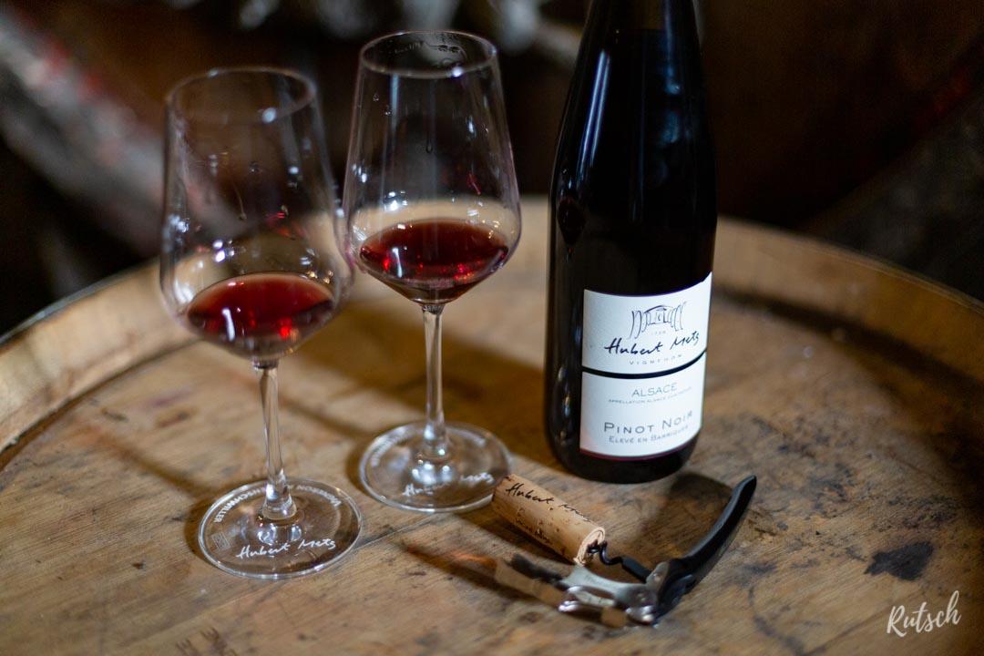 Domaine Hubert Metz Blienschwiller, Pinot Noir Vieillit en Barriques