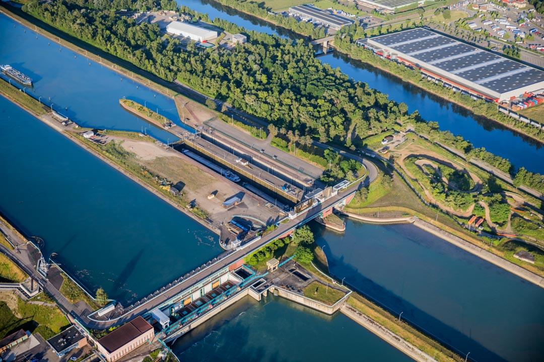 Centrale Hydroélectrique EDF Strasbourg