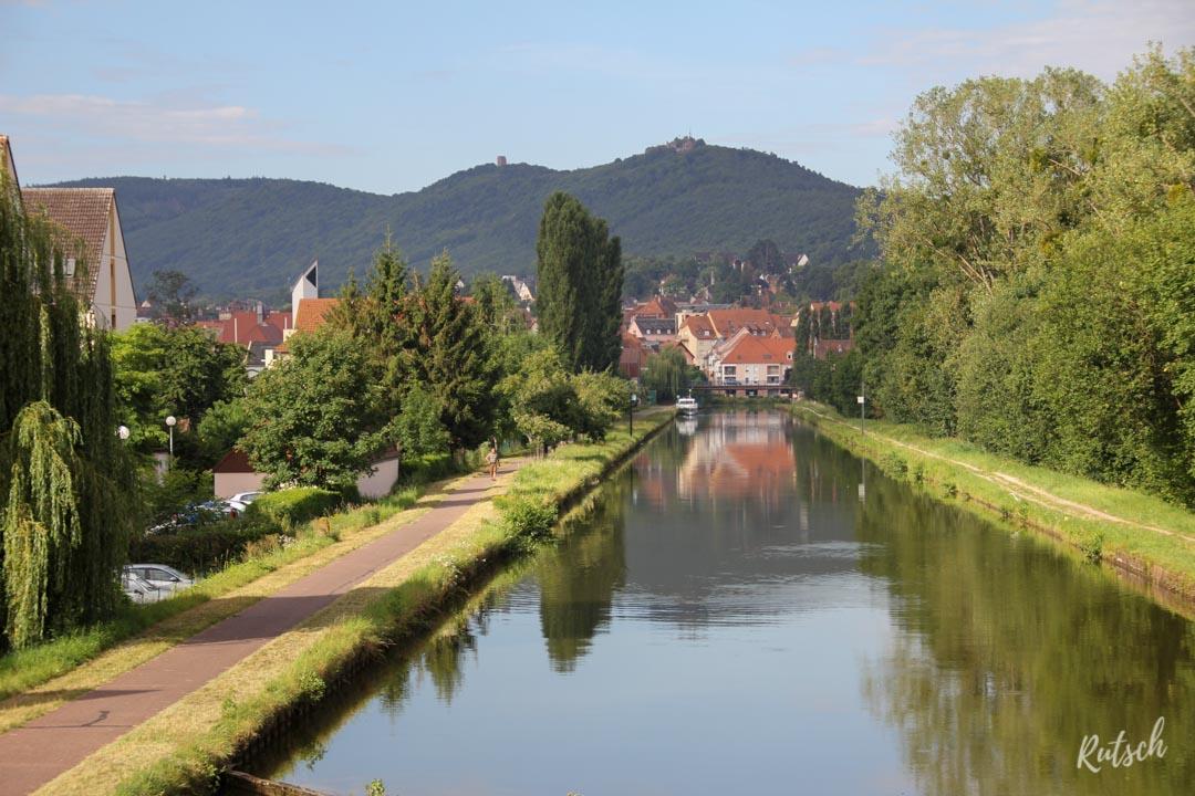Canal de la Marne au Rhin Saverne