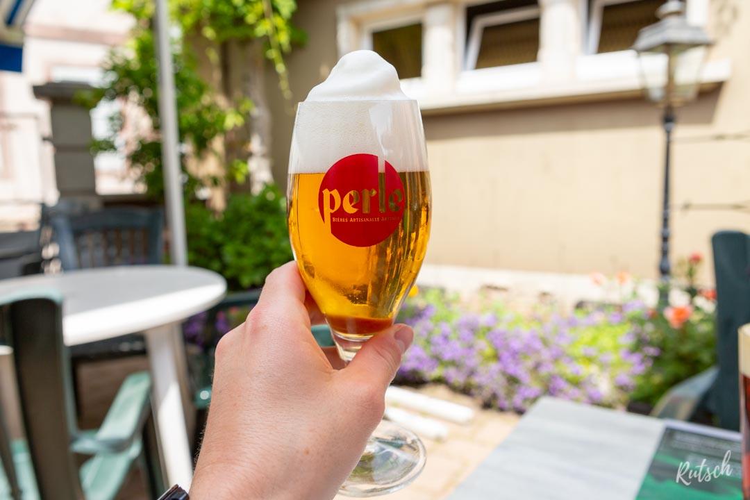 Restaurant La Charrue Dettwiller Bière Perle