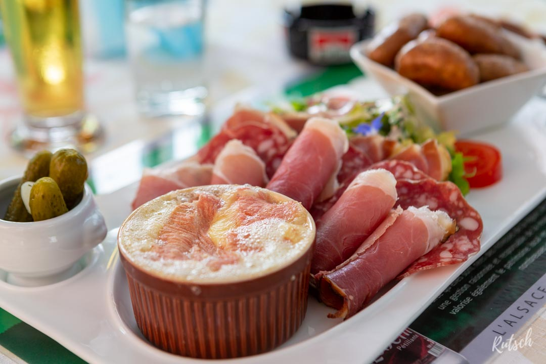 Restaurant La Charrue Dettwiller Munster au four