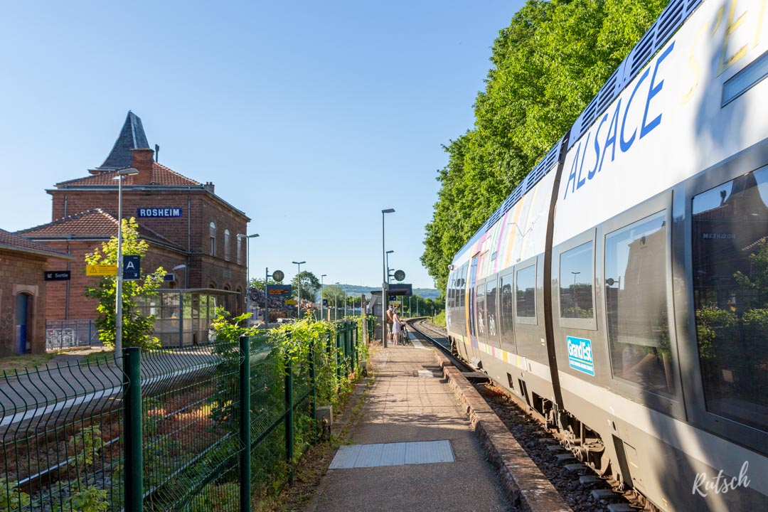 TER AGC Alsace Gare de Rosheim