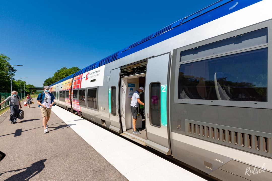 TER AGC Franche-Comté Gare d'Epfig