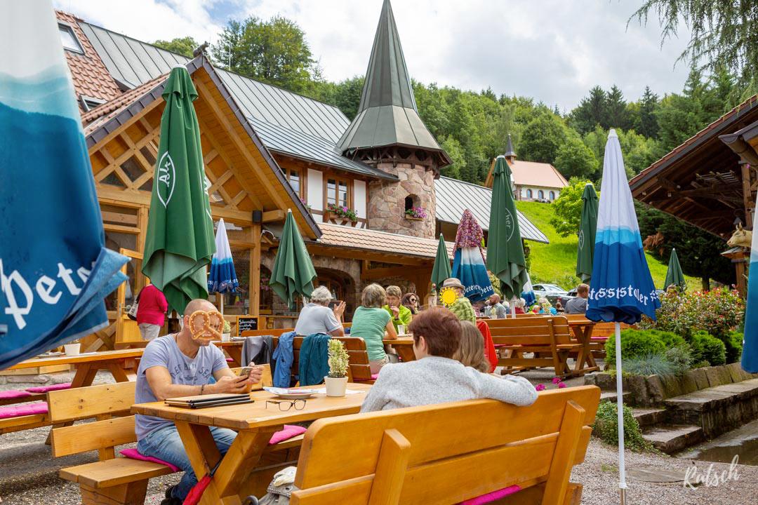 Biergarten d'altitude Spinnerhof Sasbachwalden