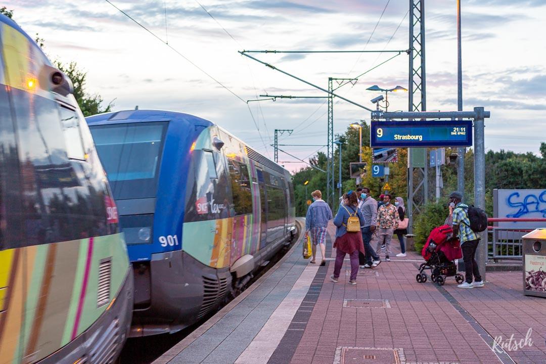 Train TER Gare d'Appenweier