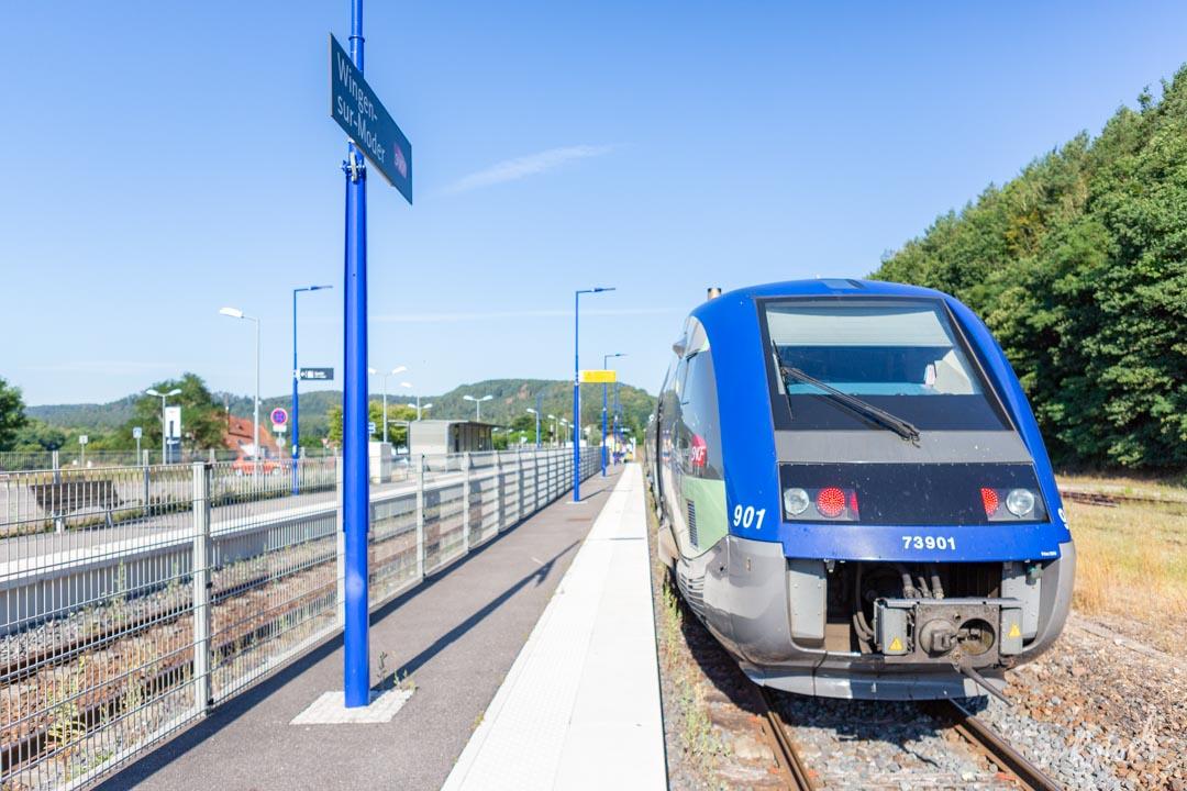 TER Alsace Gare de Wingen-sur-Moder
